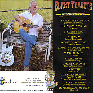 Burnt Peanuts